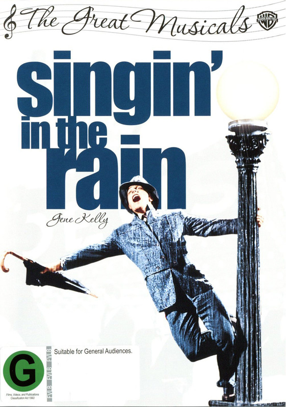 Singin in Rain 50th Anniversary on DVD