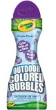 Outdoor Coloured Bubbles (Purple) - Crayola