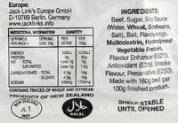 Jack Links Beef Steak Bar Teriyaki 25g x 25 pack | at Mighty Ape NZ