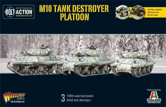 Bolt Action: US M10 Tank Destroyer Platoon