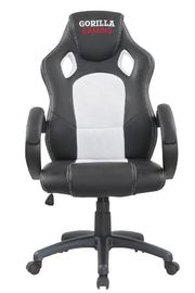 Gorilla Gaming Chair - White & Black for  image