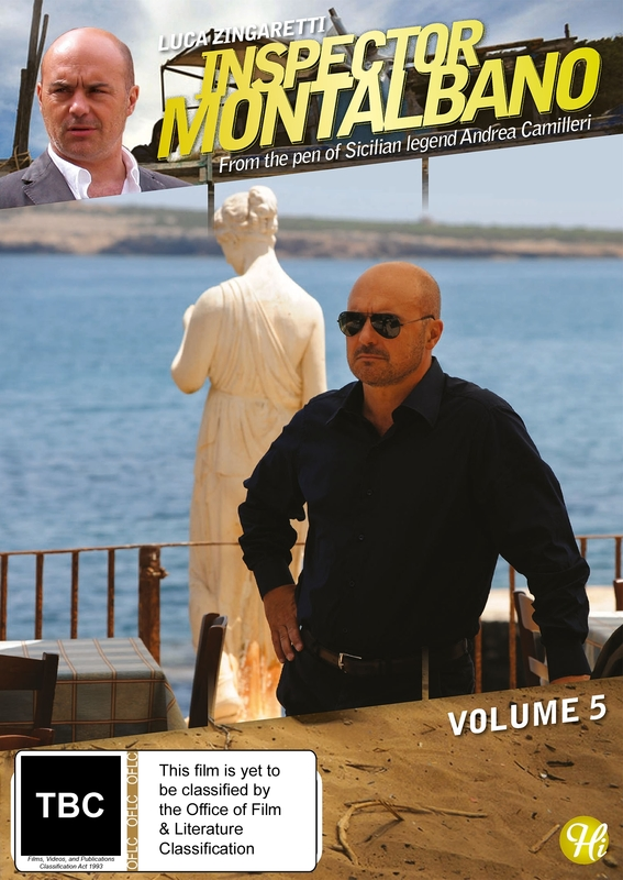 Inspector Montalbano - Vol 5 on DVD