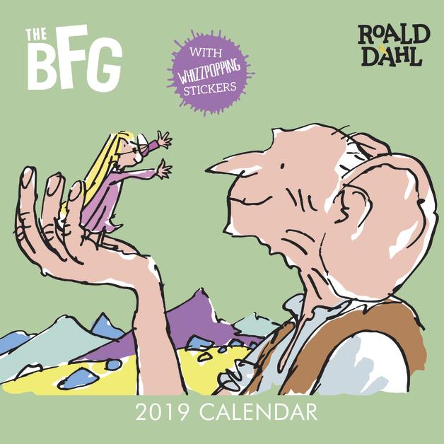 Roald Dahl: The BFG 2019 Wall Calendar