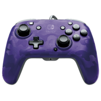 PDP Faceoff Controller Deluxe for Switch - Purple Camo for Switch