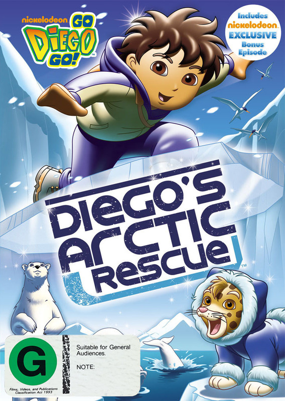 Go Diego Go!: Arctic Rescue on DVD