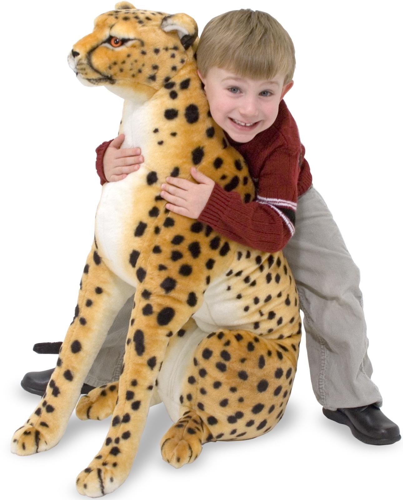 Cheetah Giant Stuffed Animal Plush - Melissa & Doug image