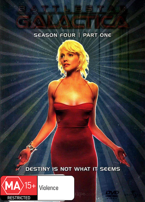 Battlestar Galactica - Season 4: Part 1 (4 Disc Slimline Set) DVD