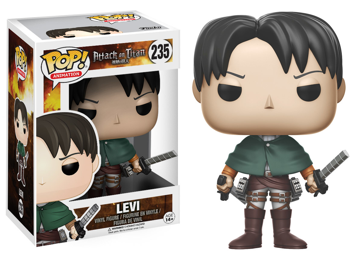 Attack on Titan - Levi Pop! Vinyl Figure image