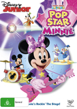 Mickey Mouse Clubhouse - Pop Star Minnie on DVD