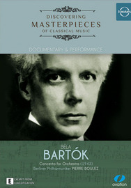 Discovering Masterpieces of Classical Music - Bartok on DVD