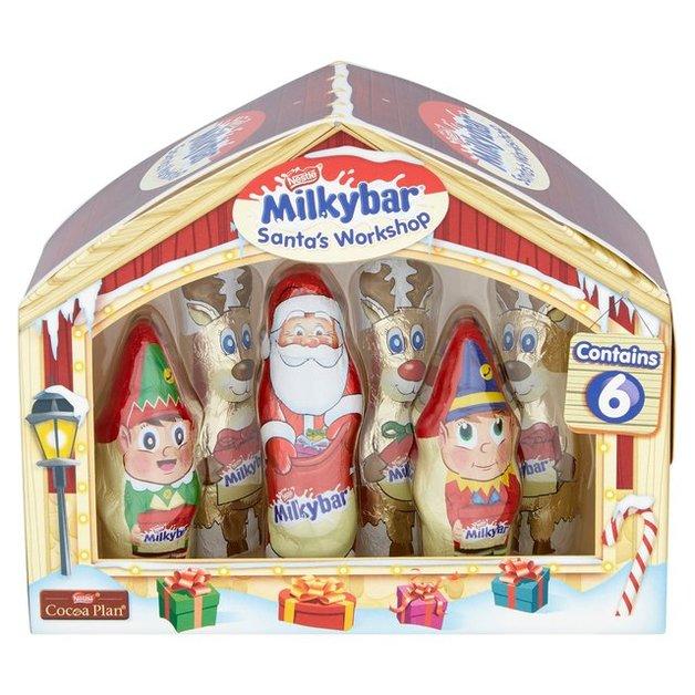 Nestle Milkybar Santa's Workshop (124g)