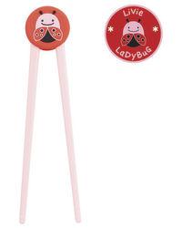 Skip Hop: Zoo Training Chopsticks - Ladybug