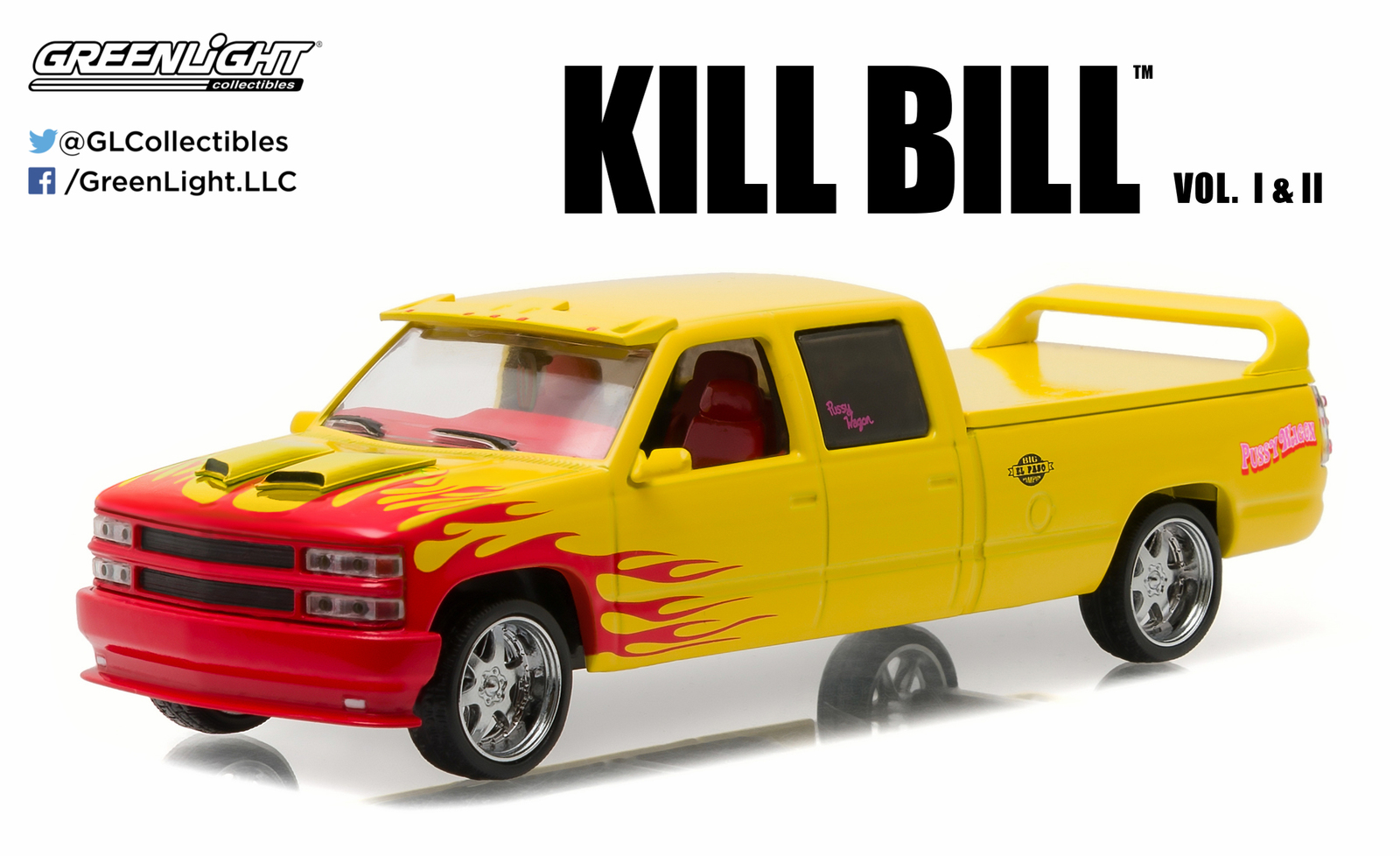 1/43: Custom Crew Cab - 'Kill Bill' - Diecast Model image