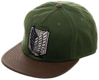 Attack on Titan: Scout Regiment - Snapback Cap (Waxed Canvas)