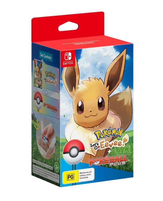 Pokemon Let's Go Eevee! Bundle for Nintendo Switch
