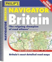 Philip's 2019 Navigator Britain Spiral Bound by Philip's Maps