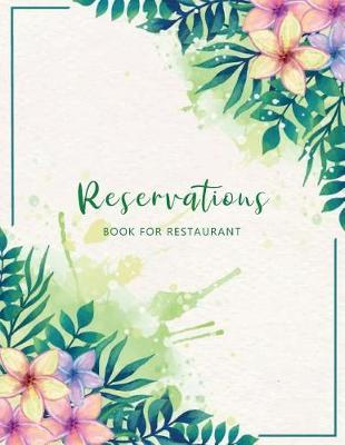 Reservations Book for Restaurant by Michelia Creations