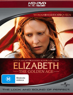 Elizabeth - The Golden Age on HD DVD