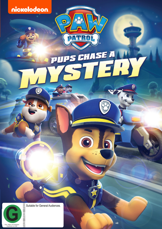 Paw Patrol: Pups Chase a Mystery on DVD
