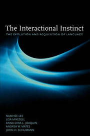 The Interactional Instinct by Namhee Lee