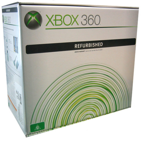 Xbox 360 Complete System (Refurbished Unit) + Perfect Dark Zero for Xbox 360