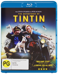 The Adventures of Tintin: Secret of the Unicorn on Blu-ray