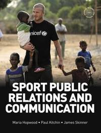 Sport Public Relations and Communication by Maria Hopwood image