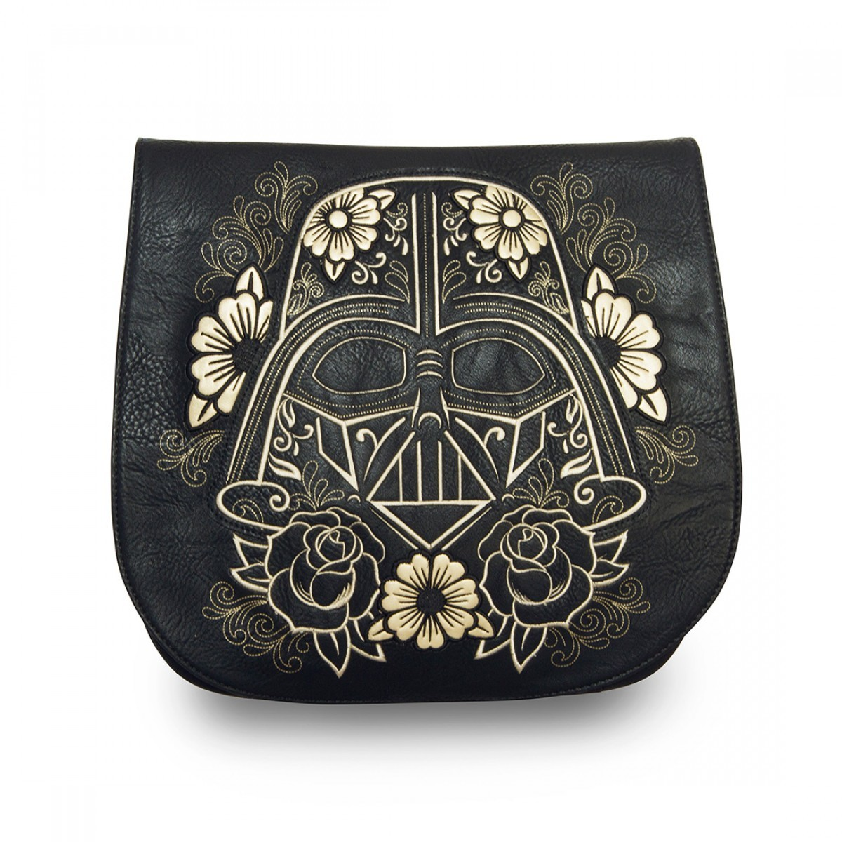 Loungefly Star Wars Darth Vader Sugar Skull Crossbody Saddle Bag image