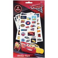 Disney Cars 3 6pg Sticker Book image