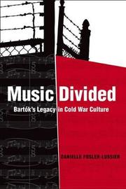 Music Divided by Danielle Fosler-Lussier image
