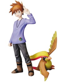 Pokemon PPP: Blue Oak & Pidgeot - PVC Figure