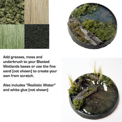 Secret Weapon Scenic Kit: Wetlands