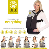 Lillebaby: Complete All Seasons Baby Carrier - Charcoal image