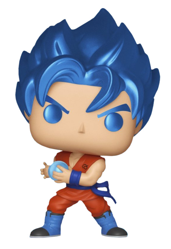 Dragon Ball Super – SSGSS Goku Kamehameha (Metallic) Pop! Vinyl Figure
