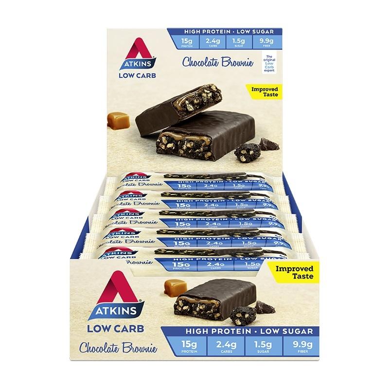 Atkins Advantage Bars - Chocolate Brownie (15 x 60g) image