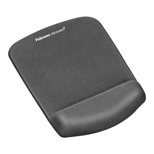 Fellowes: PlushTouch Mouse Pad & Wrist Rest - Graphite