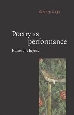 Poetry as Performance by Gregory Nagy image
