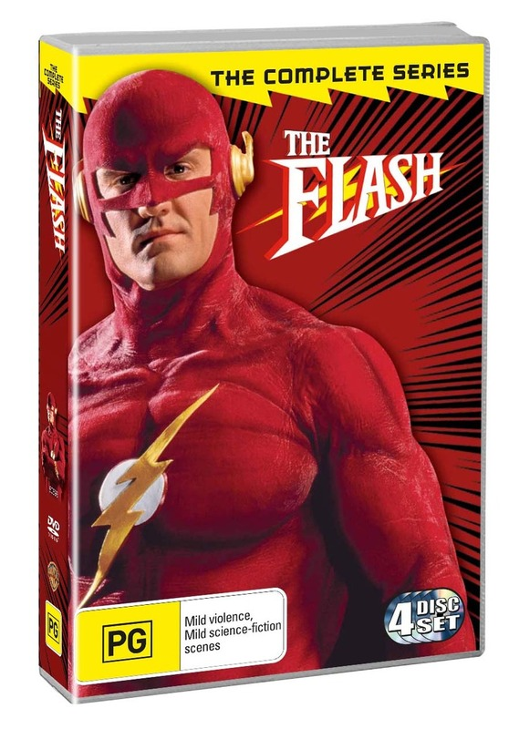 The Flash - The Complete Series (4 Disc Set) on DVD