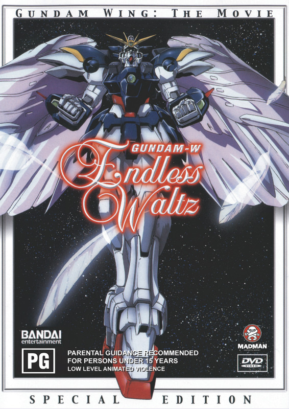 Gundam Wing - Endless Waltz on DVD