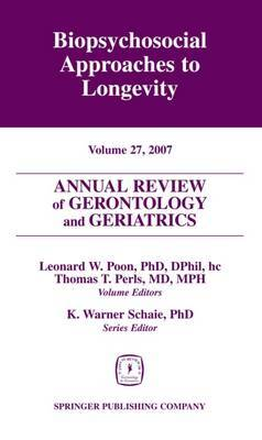 Annual Review of Gerontology and Geriatrics: Volume 27