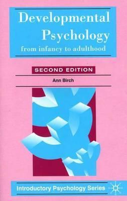 Developmental Psychology by Ann Birch image