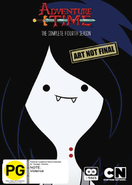 Adventure Time - The Complete Fourth Season on DVD