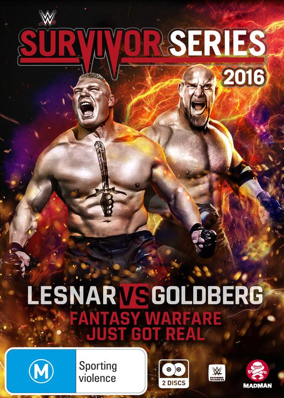 WWE: Survivor Series - 2016 on DVD