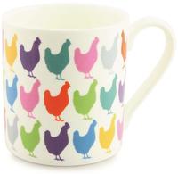 Kiwi Print Studio Mug (Kaleidoscope Chickens)