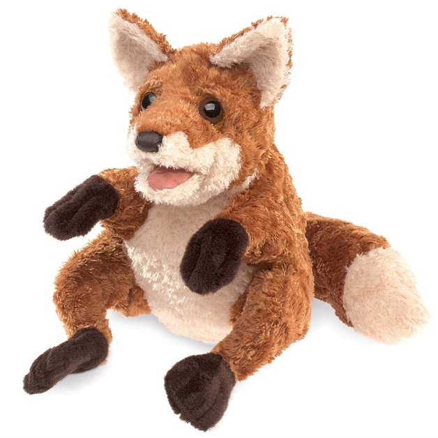 Folkmanis Hand Puppet - Crafty Fox