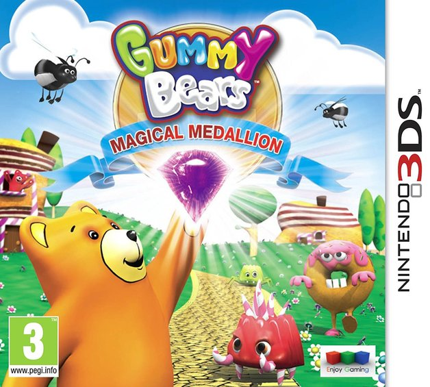 Gummy Bears Magic Medallion for Nintendo 3DS