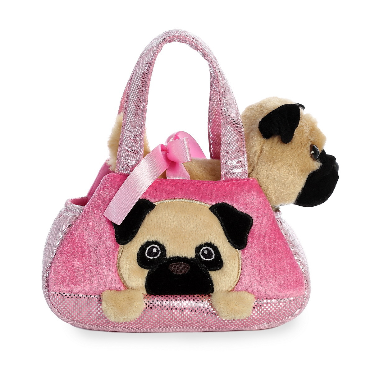 Aurora: Fancy Pal Pet Carrier – Peek A Boo Pug image