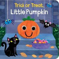 Trick or Treat, Little Pumpkin Finger Puppet Book image