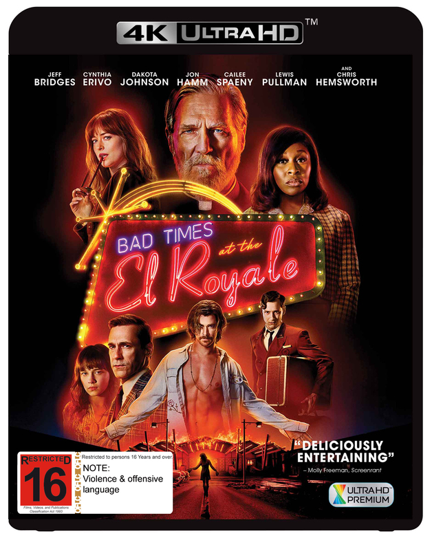 Bad Times At The El Royale on UHD Blu-ray