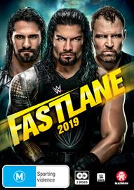 WWE: Fast Lane 2019 on DVD